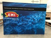 EMI Pop Up Display Booth