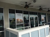 Window vinyl graphics