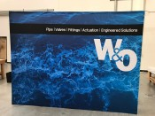 W&O Fabric Popup Display Booth