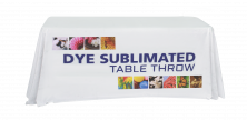 6' Full Dye Sublimated Table Throw