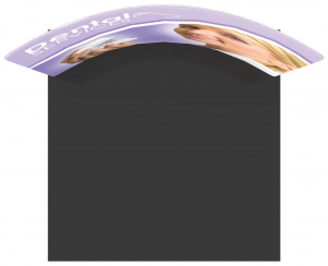 10' Display Horizontal Curved Formulate Essentials